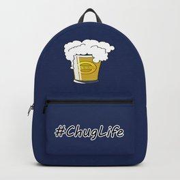 #ChugLife Beer Mug Backpack