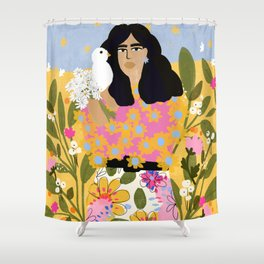 Jungle Freedom Shower Curtain