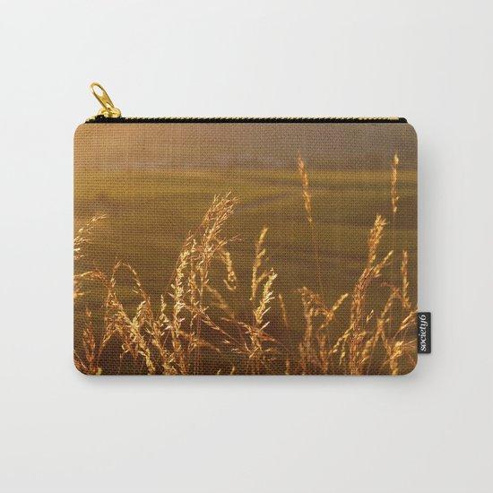 Gold Warm Light - JUSTART © Carry-All Pouch