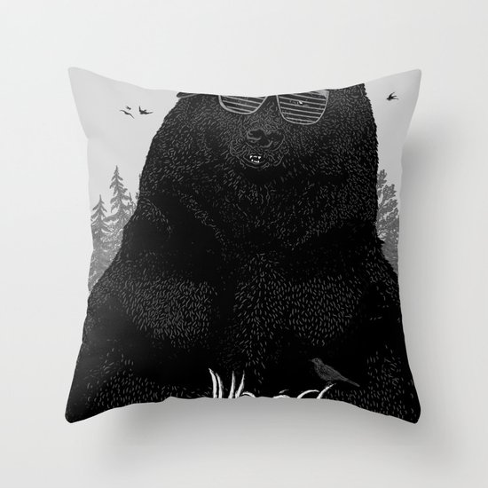 Wood Tang Clan Throw Pillow