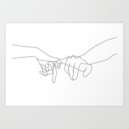 91f1b6b1b1a70 Line Art Prints | Society6