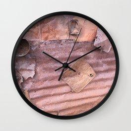 Metal memories Wall Clock