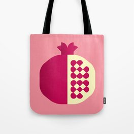 Fruit: Pomegranate Tote Bag