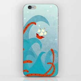 A Bad Day for Sailors iPhone Skin