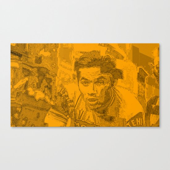 Eddy Merckx Portrait Canvas Print