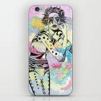 aquarius iPhone & iPod Skins featuring Aquarius by Heaven7