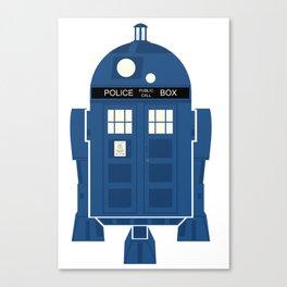 R2-TARDIS Canvas Print
