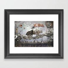 Bird Seller Framed Art Print