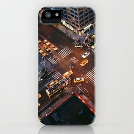 Taxi Central iPhone Case