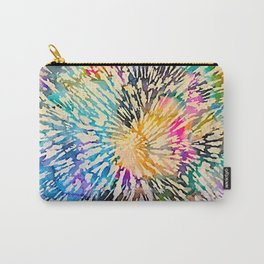Multi Color Explosion Carry-All Pouch