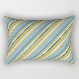 Beach Stripes Rectangular Pillow