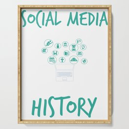 Social Media Can Wait Time For History Serving Tray
