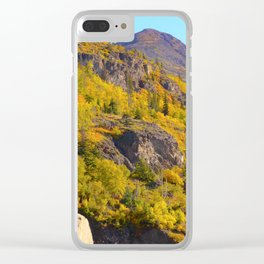 Alaskan Autumn - Painting Clear iPhone Case