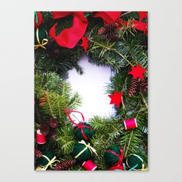Wreath 01 Canvas Print