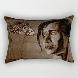 MOMENTO MORI Rectangular Pillow