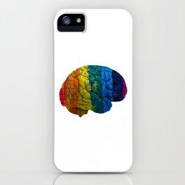 my gay brain iPhone Case