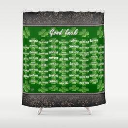 Good Luck Shower Curtain
