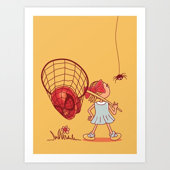 bugs hunter  Art Print