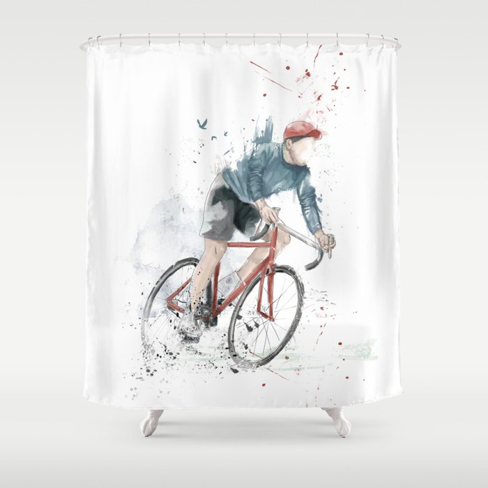Good I Want To Ride My Bicycle Shower Curtain