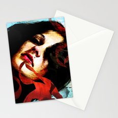 out of the light Stationery Cards
