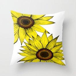 girasol Throw Pillow