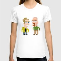 jesse pinkman T-shirts featuring Mr White & Jesse Pinkman by HypersVE