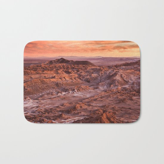 Desert orange Bath Mat