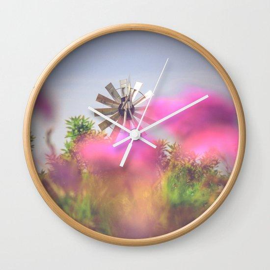 Summer Winds Wall Clock