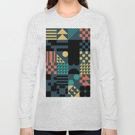 RAND PATTERNS #63: Procedural Art Long Sleeve T-shirt
