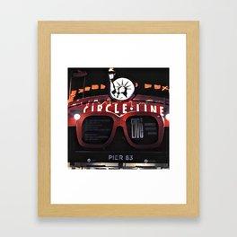 Circle Line, New York Framed Art Print