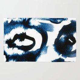 Evil Eye Indigo Rug