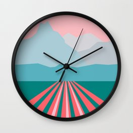 Farming Alaska Wall Clock