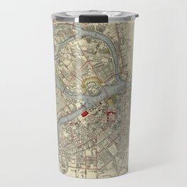 Map of St. Petersburg 1883 Travel Mug