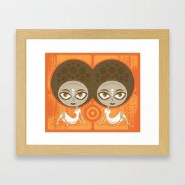 Binary Stars Framed Art Print