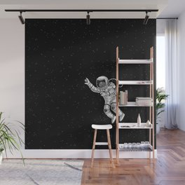 Astronaut in the outer space Wall Mural
