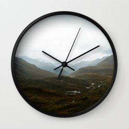 Harris Saddle  Wall Clock