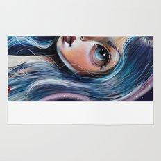 The Starry Sky - Pop Surrealism Illustration Rug