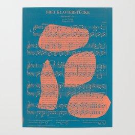 Schubert Sheet Music - Impromptu Poster