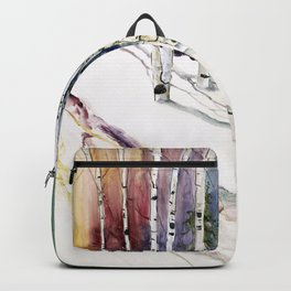 4 Season Watercolor Collection - Winter Backpack