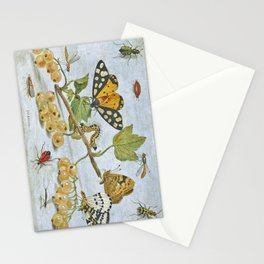 Insects Crawling Stationery Cards