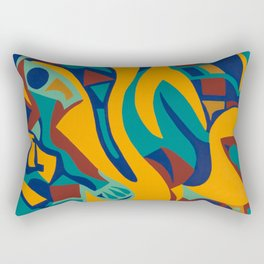 Induced Jazz Rectangular Pillow