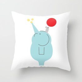 Big and Small Throw Pillow