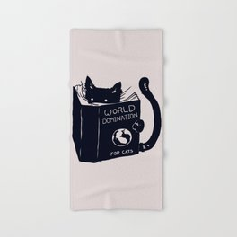 World Domination For Cats Hand & Bath Towel