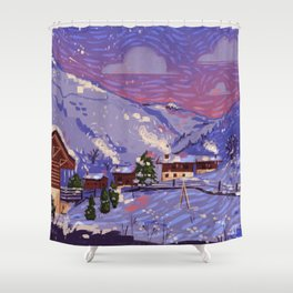 WinterHome Shower Curtain