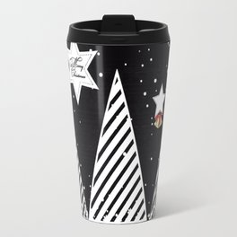 Winter Christmas Travel Mug