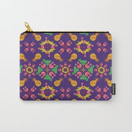 PSYCO TROPICAL BERLIN_Purple Carry-All Pouch