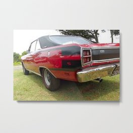 1971 Brazilian Made Only Charger RT Muscle Car Metal Print
