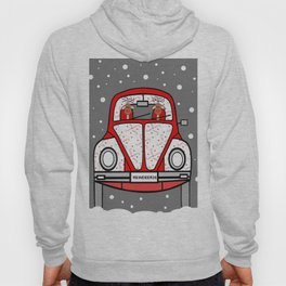 Sleigh Is In The Shop -Merry Christmas Hoody