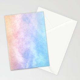 Pink Cotton Candy Sky Stationery Cards