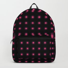 Abstract purple flower 04 Backpack